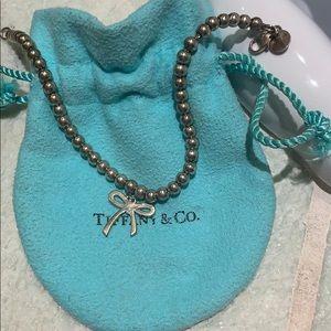 Jewelry - Tiffany's silver bow bracelet